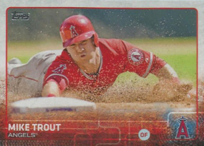 2015 Topps Sparkle Variation 300 Mike Trout