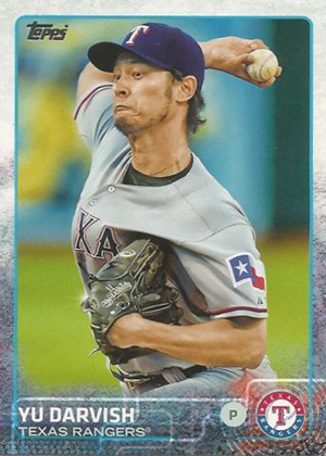 2015 Topps Sparkle Variation 50 Yu Darvish