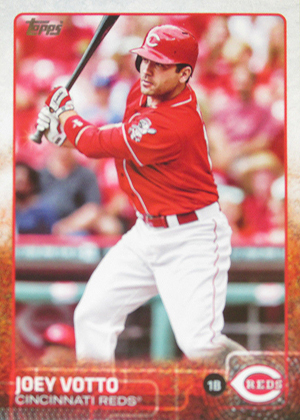 2015 Topps Sparkle Variation Joey Votto