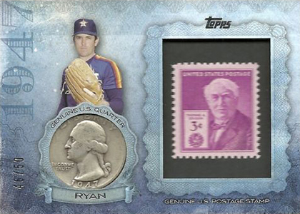 2015 Topps Stamp and Coin