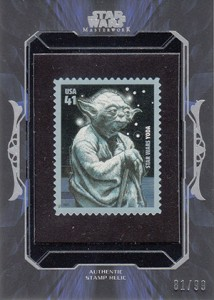 2015 Topps Star Wars Masterwork Trading Cards 32
