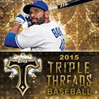 2015 Topps Triple Threads Baseball Cards
