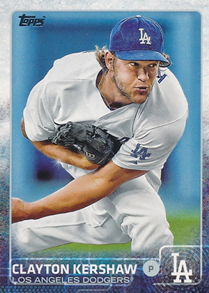 2015 Topps Variation 100 Clayton Kershaw