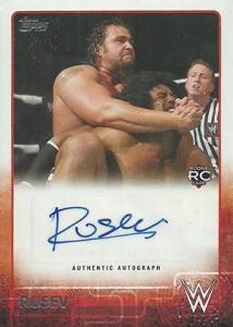 2015 Topps WWE Wrestling Cards 25