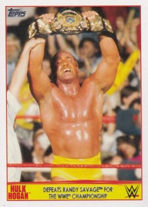 2015 Topps WWE Hulk Hogan Tribute