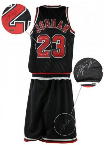 Michael Jordan Game-Used Jersey and Shorts 1997-98 Season UDA