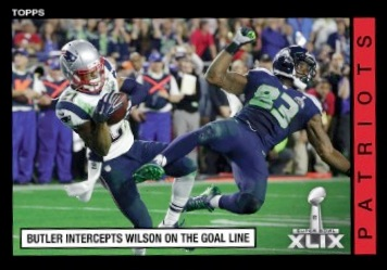 Malcolm Butler Super Bowl XLIX Interception Autographed Photos Now Available 3
