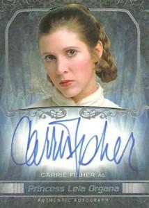 2015 Topps Star Wars Masterwork Autographs Gallery 25