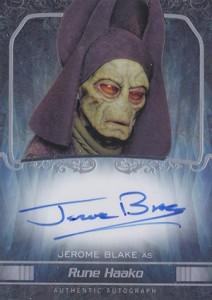 2015 Topps Star Wars Masterwork Autographs Gallery 10