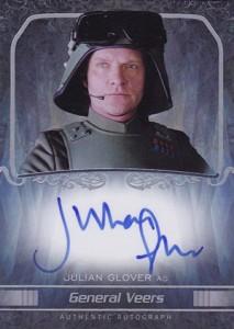 2015 Topps Star Wars Masterwork Autographs Gallery 12