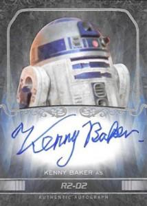 2015 Topps Star Wars Masterwork Autographs Gallery 13