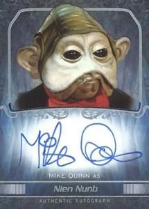 2015 Topps Star Wars Masterwork Autographs Gallery 15