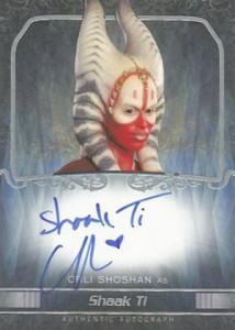 2015 Topps Star Wars Masterwork Autographs Gallery 16