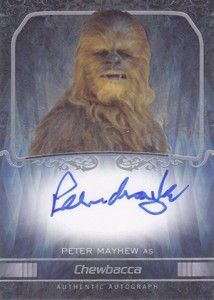2015 Topps Star Wars Masterwork Trading Cards 25