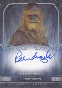 2015 Topps Star Wars Masterwork Autographs Gallery 37
