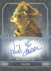 2015 Topps Star Wars Masterwork Autographs Gallery 18