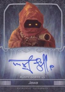 2015 Topps Star Wars Masterwork Autographs Gallery 19