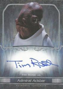 2015 Topps Star Wars Masterwork Autographs Gallery 39