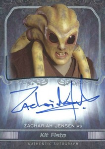 2015 Topps Star Wars Masterwork Autographs Gallery 40