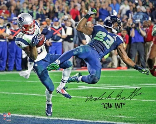 Super Bowl XLIX Malcolm Butler Signed Photo