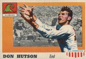 1955 Topps All American Don Hutson RC #97