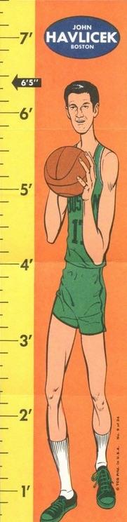 1969-70 Topps Rulers #9 John Havlicek