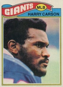 1977 Topps Harry Carson RC #146