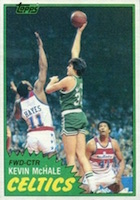 Kevin McHale Rookie Card Guide and Checklist