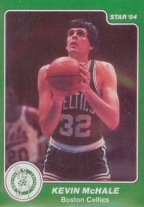 Kevin McHale Rookie Card Guide and Checklist 2