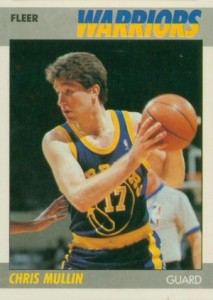 1987-88 Fleer Chris Mullin #77