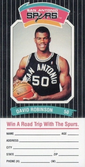 Salute to The Admiral! Top David Robinson Basketball Cards 1