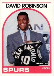 Salute to The Admiral! Top David Robinson Basketball Cards 2
