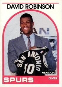 1989-90 NBA Hoops David Robinson RC #138