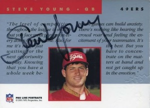 Top Steve Young Football Cards for All Budgets  10