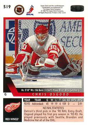 1993-94 Upper Deck Hockey Cards 2