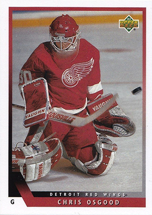 1993-94 Upper Deck Hockey Chris Osgood RC