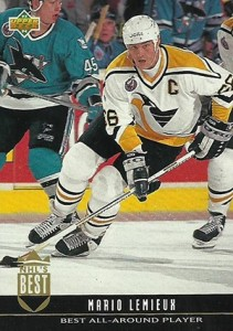 1993-94 Upper Deck Hockey NHLs Best Mario Lemieux