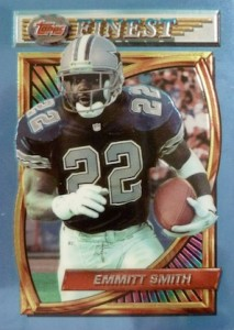 1994 Topps Finest Football Cards 1