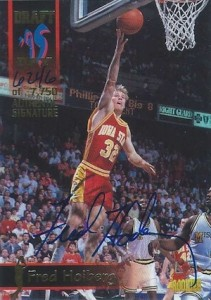 1995 Signature Rookies Draft Day Signatures Fred Hoiberg