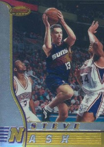 1996-97 Bowman's Best Steve Nash RC #R18