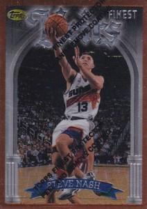 1996-97 Finest Steve Nash 217