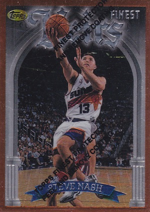 Hall of Fame Bound! Top Steve Nash Basketball Cards 2