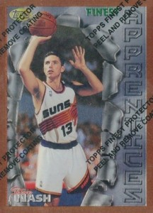 Steve Nash Rookie Cards and Autographed Memorabilia Guide 2