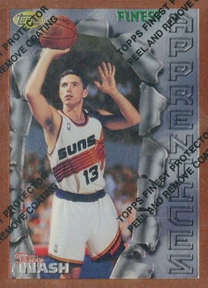 Hall of Fame Bound! Top Steve Nash Basketball Cards 1