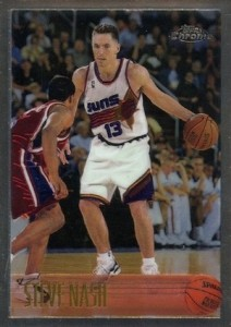 1996-97 Topps Chrome Steve Nash RC #182