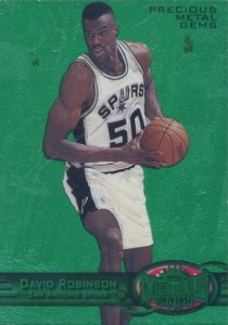 Salute to The Admiral! Top David Robinson Basketball Cards 7