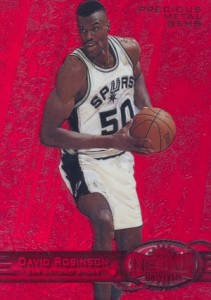 Salute to The Admiral! Top David Robinson Basketball Cards 6