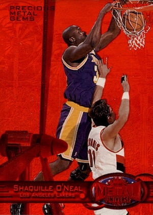 Shaq Attack! Top 10 Shaquille O'Neal Basketball Cards 8
