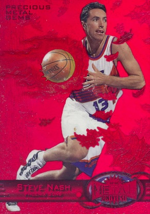 Hall of Fame Bound! Top Steve Nash Basketball Cards 9