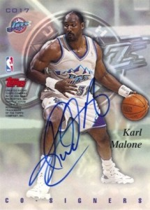 This Mailman Always Delivers! Top 10 Karl Malone Cards 10